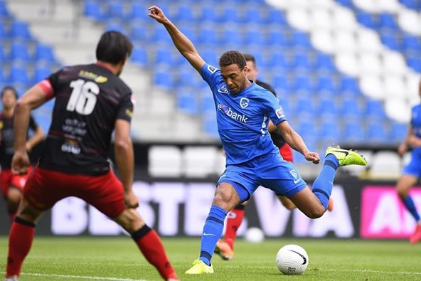 Cyriel Dessers on target in Genk tune-up game   KICK442