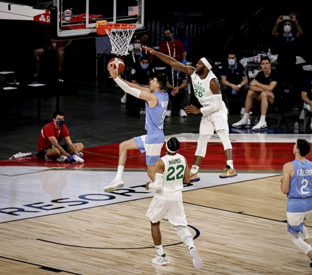 D'Tigers Continue Olympics Preparation With Win Over Fourth Ranked Argentina  | KICK442